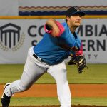 Burch Smith started for the Missions and struck out 10 batters in five innings on Thursday at Wolff Stadium. - photo by Joe Alexander