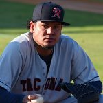 The Seattle Mariners' Felix Hernandez pitched against the San Antonio Missions on Friday at Wolff Stadium in a rehab assignment. - photo by Joe Alexander