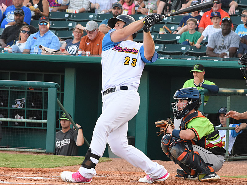 The San Antonio Missions' David Freitas was selected to play in the 2019 Triple-A All-Star Game. - photo by Joe Alexander