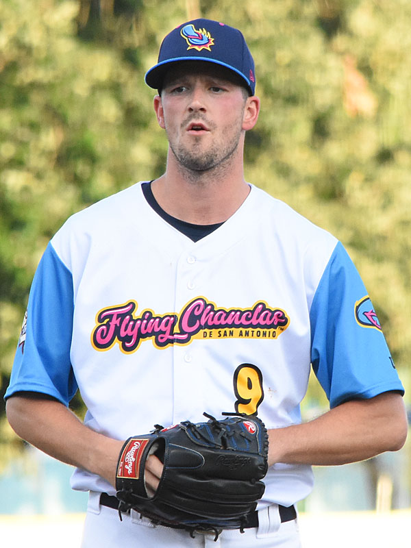 The San Antonio Missions' Drew Smyly pitches against the Omaha Storm Chasers on Thursday at Wolff Stadium. - photo by Joe Alexander