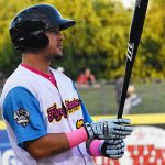 Hernan Perez playing for the San Antonio Missions at Wolff Stadium. - photo by Joe Alexander