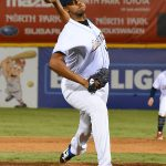 Angel Perdomo. The San Antonio Missions beat the Sacramento River Cats 8-4 Tuesday at Wolff Stadium. - photo by Joe Alexander