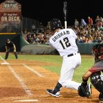 The Missions' Trent Grisham had five hits including two home runs on Tuesday at Wolff Stadium. - photo by Joe Alexander