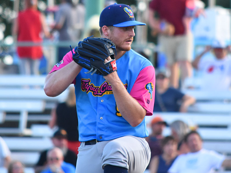 Shelby Miller pitches for the San Antonio Missions on Thursday at Wolff Stadium. - photo by Joe Alexander