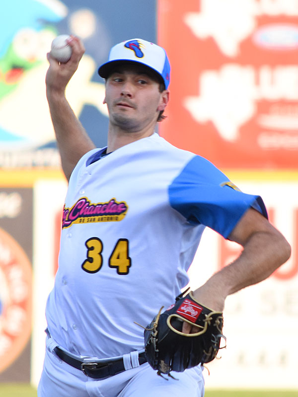 Burch Smith did not allow a run in 5 1/3 innings on Thursday at Wolff Stadium. - photo by Joe Alexander