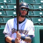 San Antonio Missions infielder Lucas Erceg playing at Wolff Stadium during the 2019 season. - photo by Joe Alexander