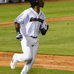 Troy Stokes Jr. drove in the San Antonio Missions' final run on Friday at Wolff Stadium. - photo by Joe Alexander