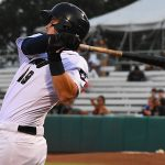 The San Antonio Missions' Tyler Austin hit his second home run in a week on Friday at Wolff Stadium. - photo by Joe Alexander