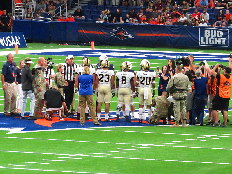 Army beat UTSA 31-13 on Saturday, Sept. 14 at the Alamodome.