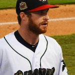 Cory Spangenberg. 2019 San Antonio Missions season at Wolff Stadium. - photo by Joe Alexander