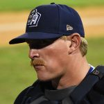 Skyler Ewing. 2019 San Antonio Missions season at Wolff Stadium. - photo by Joe Alexander