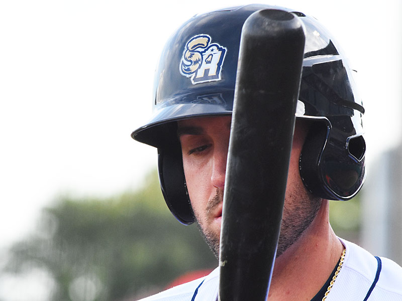 Travis Shaw. 2019 San Antonio Missions season at Wolff Stadium. - photo by Joe Alexander