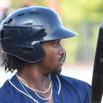 Troy Stokes Jr. 2019 San Antonio Missions season at Wolff Stadium. - photo by Joe Alexander
