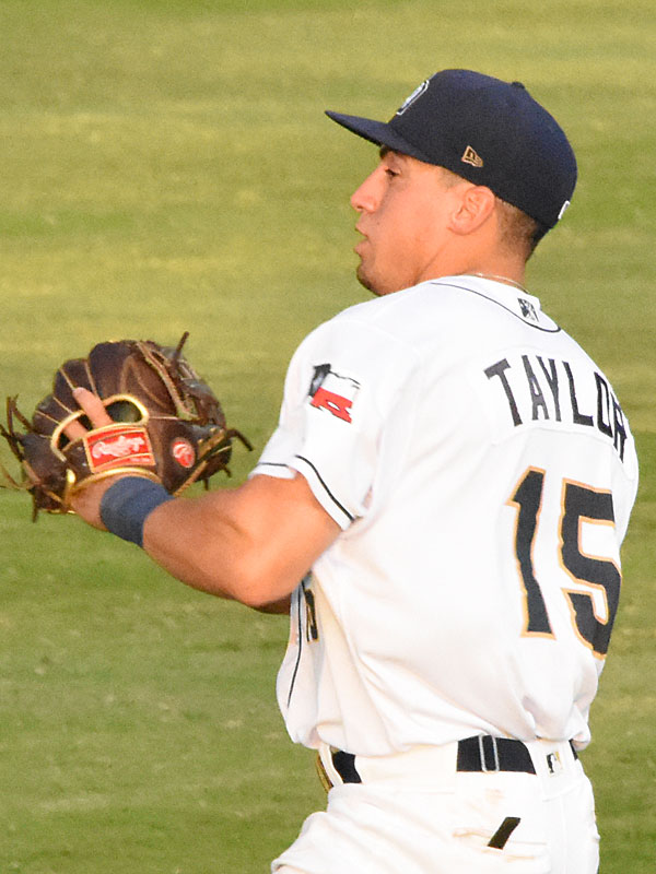 Tyrone Taylor. 2019 San Antonio Missions season at Wolff Stadium. - photo by Joe Alexander