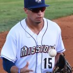 Tyrone Taylor. 2019 San Antonio Missions season at Wolff Stadium. - photo by Joe Alexander