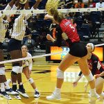 Bethany Clapp. UTSA beat Incarnate Word on Tuesday, Sept. 17, 2019, at the UTSA Convocation Center.