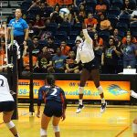 Bianca Ejesieme. UTSA beat Incarnate Word on Tuesday, Sept. 17, 2019, at the UTSA Convocation Center.