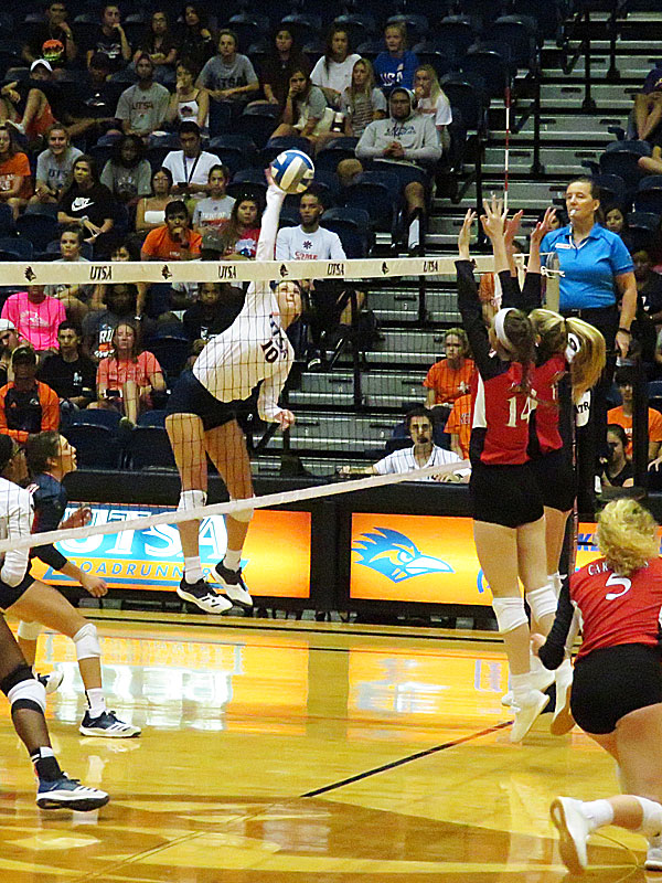 Kirby Smith. UTSA beat Incarnate Word on Tuesday, Sept. 17, 2019, at the UTSA Convocation Center.