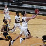 Ben Hanley. Trinity beat Howard Payne 90-78 on Monday. - photo by Joe Alexander