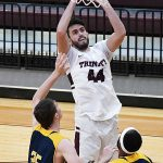 Mason Roberts. Trinity beat Howard Payne 90-78 on Monday. - photo by Joe Alexander
