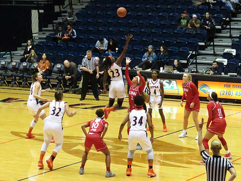 UTSA beat UIW 63-56 on Monday at the UTSA Convocation Center. - photo by Joe Alexander
