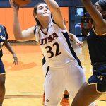 Adryana Quezada. The UTSA women's basketball team beat Texas Wesleyan 80-78 on Friday at the UTSA Convocation Center. - photo by Joe Alexander