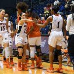 Deja Cousin. The UTSA women's basketball team beat Texas Wesleyan 80-78 on Friday at the UTSA Convocation Center. - photo by Joe Alexander