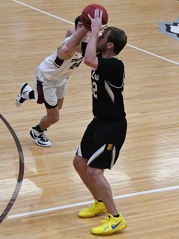 Jorden Kite. Texas Lutheran lost to Trinity on the road on Friday. - photo by Joe Alexander