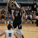 Cameron Fontenot. Texas Lutheran lost to Trinity on the road on Friday. - photo by Joe Alexander