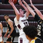 Jack Williams. Trinity beat Texas Lutheran 87-79 in men's basketball on Friday at Trinity. - photo by Joe Alexander