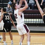 Luke Stuart. Trinity beat Texas Lutheran 87-79 in men's basketball on Friday at Trinity. - photo by Joe Alexander