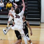 Kobe Patterson. Trinity beat Texas Lutheran 87-79 in men's basketball on Friday at Trinity. - photo by Joe Alexander