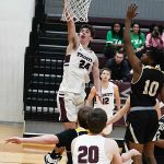 Ben Hanley. Trinity beat Texas Lutheran 87-79 in men's basketball on Friday at Trinity. - photo by Joe Alexander
