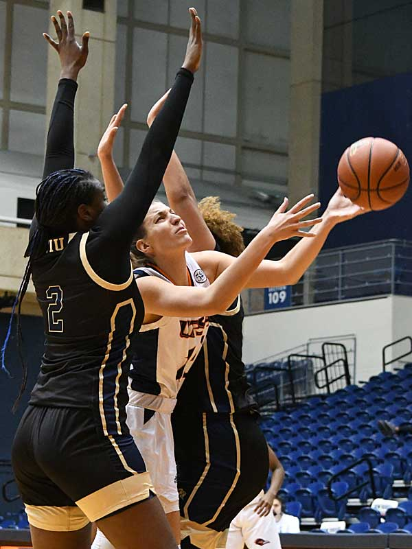 Timea Toth. UTSA beat Florida International 60-45 in women's basketball on Saturday at UTSA. - photo by Joe Alexander