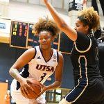 Elena Blanding. UTSA beat Florida International 60-45 in women's basketball on Saturday at UTSA. - photo by Joe Alexander