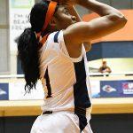 Evelyn Omemmah. UTSA beat Florida International 60-45 in women's basketball on Saturday at UTSA. - photo by Joe Alexander