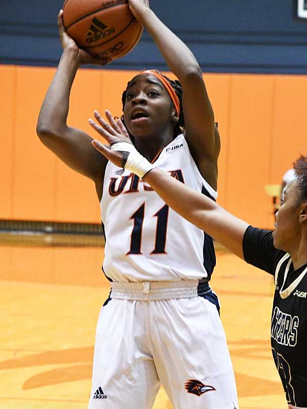 Charlene Mass. UTSA beat Florida International 60-45 in women's basketball on Saturday at UTSA. - photo by Joe Alexander