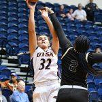 Adryana Quezada. UTSA beat Florida International 60-45 in women's basketball on Saturday at UTSA. - photo by Joe Alexander