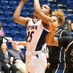 Shannan Mitchell. UTSA beat Florida International 60-45 in women's basketball on Saturday at UTSA. - photo by Joe Alexander