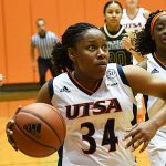 Karrington Donald leads the UTSA women's basketball team with 22 3-pointers made through the first 13 games of the season. - photo by Joe Alexander