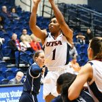 Evelyn Omemmah. UTSA fell to Rice 74-62 Saturday at UTSA in CUSA women's basketball. - photo by Joe Alexander