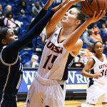 Timea Toth. UTSA fell to Rice 74-62 Saturday at UTSA in CUSA women's basketball. - photo by Joe Alexander