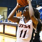 Charlene Mass. UTSA fell to Rice 74-62 Saturday at UTSA in CUSA women's basketball. - photo by Joe Alexander