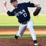 UTSA's Jack Engelmann pitching against Grambling on Friday. - photo by Joe Alexander