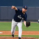 UTSA's Luke Malone pitching against Grambling on Friday. - photo by Joe Alexander