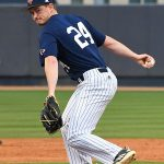UTSA's Palmer Wenzel pitching against Grambling on Friday. - photo by Joe Alexander