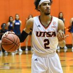 UTSA's Jhivvan Jackson has scored 675 points in 25 games so far this season, averaging 27.0 per game. - photo by Joe Alexander