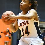 Karrington Donald. Charlotte beat the UTSA women in CUSA on Saturday. - photo by Joe Alexander