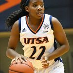 Ceyenne Mass. Charlotte beat the UTSA women in CUSA on Saturday. - photo by Joe Alexander