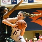 Timea Toth. Charlotte beat the UTSA women in CUSA on Saturday. - photo by Joe Alexander